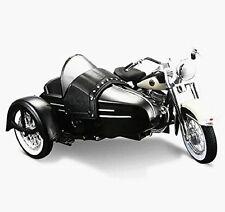 Maisto 1:18 Harley Davidson 1958 FLH DUO GLIDE SIDECAR Motorcycle Model IN BOX