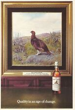THE FAMOUS GROUSE Finest Scotch Whisky - 1978 Vintage Print Ad (small size)
