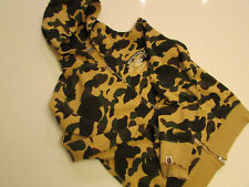 AUTHENTIC BAPE 1st CAMO APE SHALL NEVER KILL APE HOODIE MEDIUM A BATHING APE