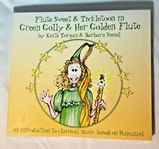 Flute Sweets & Tickl - Green Golly & Her Golden Flute [New CD] Music Fairy Tale