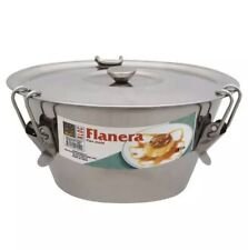 """Kloc Flanera Flan Cone Mold 7"""" Conical Shape Stainless Steel 1.5qt"""