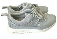 Nike Air Max Thea Womens 7.5 Sneakers Athletic Shoes Silver Gray White Running