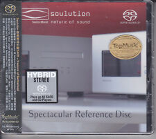 """Soulution Spectacular Reference Disc"" Top Music Stereo Hybrid SACD CD Brand New"