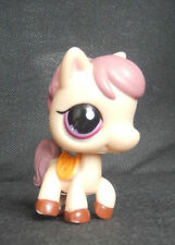 littlest petshop LPS PETSHOP 1512 poney pony cheval horse rose pink creme cream