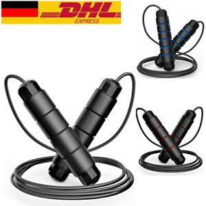 Springseil 3M Metal Boxsport Boxen Profi Speed Rope Seilspringen Fitness
