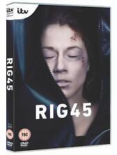 RIG 45 (2019): Oil Rig Murder - Swedish TV Season Series - NEW Eu Rg2 DVD not US