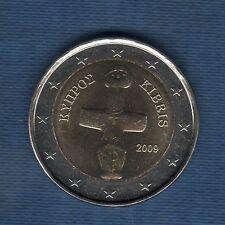 Chypre - 2009 - 2 Euro - Pièce neuve de rouleau -