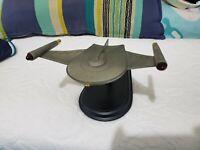 Franklin Mint Star Trek Romulan Bird Of Prey Pewter Model
