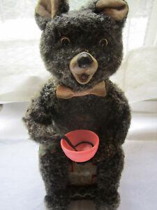 Tin Toy Bear Orso Che fa le bolle di sapone Made in Japan anni '60