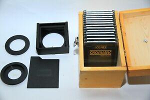 Cromatek - Filter Holder, 2 Mount Adaptors, 14 Filters + Box