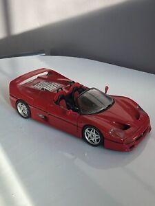 BBURAGO 1:18 Ferrari F50 Diecast  Red,
