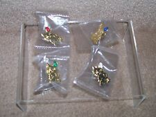 Complete set of Family Circle Loyalty Pins from Pendelfin 4 pins
