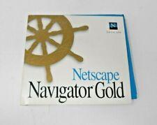 "Netscape Navigator Gold Version 3.0 Software for Windows NT/95 ~ 3.5"" Floppy"