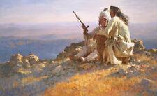Telling of the Legends LE Print S/N 31/1250 by Cowboy Artist Howard Terpning