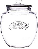 Kilner Push Top 2 Litre Glass Storage Jar With Air Tight Seal