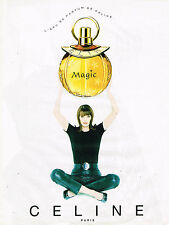PUBLICITE ADVERTISING 035  1996  CELINE   parfum femme MAGIC