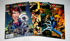 CURSED 1 2 3 AND 4 OF 4  Complete Set - Modern Horror - Image/Top Cow