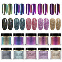 BORN PRETTY 10ml Chameleon Nail Color Dipping Powder Natural Dry No UV Needed
