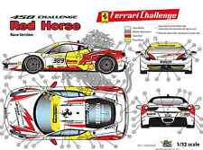 "[FFSMC Productions] Decals 1/32 Ferrari F-458 Challenge ""Red Horse"" (for Races)"