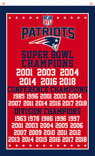 New England Patriots Champions flag 90x150cm 3x5ft Football best banner