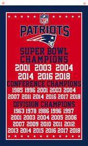 New England Patriots Champions flag 90x150cm 3x5ft Football best banner