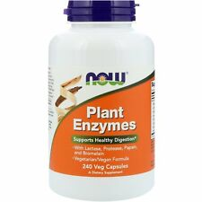 Now Foods Plant Enzymes - 240 Vcaps - Supports Healthy Digestion