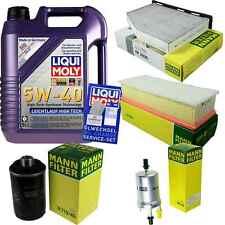 Inspection Kit Filter Liqui Moly Oil Oil 5L 5W-40 for Audi Tt 8J3 1.8 TFSI 2.0