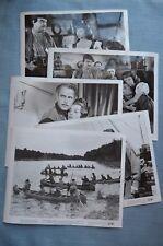 """5 (8x10) Movie Stills from 1951 Paramount Pictures Movie, """"Quebec"""""""