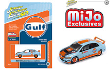 Johnny Lightning Mitsubishi Lancer Evolution 2004 Gulf JLCP7203 1/64