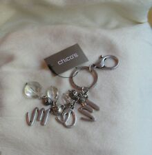 """Jeans/Keys/Purse Or Other Clip Chicos Silvertone """"Mom"""" Clip"""