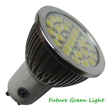 GU10 24 SMD LED 240V 350LM 4.3W WARM WHITE BULB ~50W