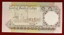 LIBIA 1/4 DINAR 1988/90 Series 4 PK 52 FDS/Unc. #B888