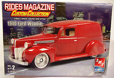 NEW AMT Ertl 1/25 scale 1940 '40 Ford Woodie Plastic Model kit