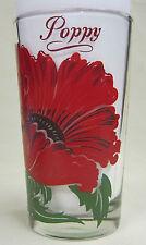 Poppy Peanut Butter Glass Glasses Drinking Kitchen Mauzy 28-1