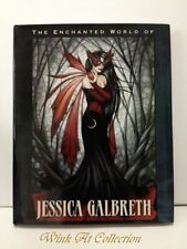 """The Enchanted World of Jessica Galbreth"" Fairy & Mermaid Hardcover Art Book"
