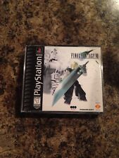 Final Fantasy VII Playstation 1 Misprint Miscut Rare 1 Of A Kind ? READ