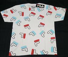 FILA Men's T-shirt Classic  Logo Athletic Sport training printed  classic-