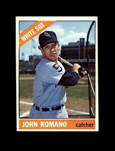 1966 Topps Baseball #413 John Romano (White Sox) NM