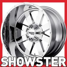 "4 x 18x9 18"" MOTO METAL wheels MO962 chrome 6x139.7 Ranger Hilux Colorado"