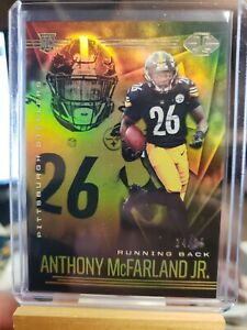 Anthony McFarland Jr. 2020 Panini Illusions rookie card gold #14/25 Steelers