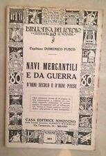 NAVI MERCANTILI E DA GUERRA D'OGNI SECOLO E D'OGNI PAESE NAVIGAZIONE ANNI '20