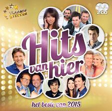 HITS VAN HIER - HET BESTE VAN 2015 (2CD - NEW & SEALED !!!)