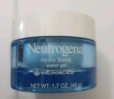 Neutrogena Hydro Boost Water Gel face moisturizer 1.7 oz full size NEW