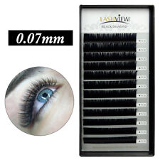 3ab35d78094 Lashview .07 Individual Eyelash Extensions Hot D 11mm Volume Effect Lashes