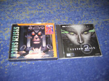 System SHOCK Pc Edition culto-Shooter parte 1 e 2 systemshock 1 e 2