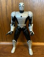 "Spider Armor Spider-Man Vintage Animated Series 10"" Figure 1995 Toybiz Marvel"
