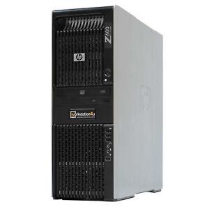 HP Z600 Boîtier Vide Workstation Tour Barebone Seulement Chassis Aluminium Coque