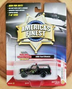 Racing Champions Mint 1980 Ford Bronco CHP 1:64 Diecast Truck VerC R1 #1