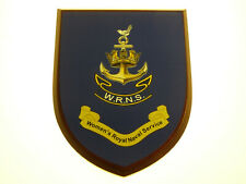 WRNS WOMENS ROYAL NAVAL SERVICE FULL FACE BRAND NEW MESS PLAQUE