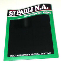 St. Pauli N.A. beer sign bar signs 1 dry special erase board import Germany Vq8
